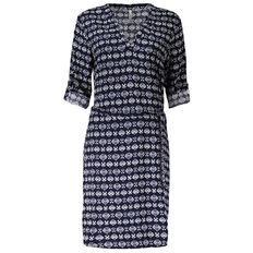 Maya Printed Shirt Dress