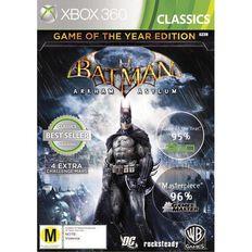 Xbox360 Batman Arkham Asylum