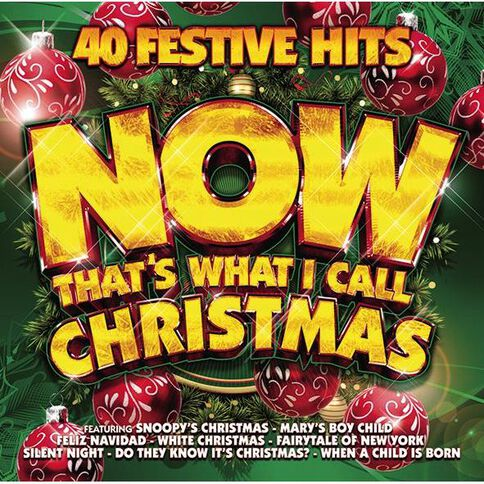 Now That's What I Call Christmas CD by Various Artists 2Disc