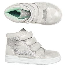 Hippo + Friends Kids' Glitter Star Shoes