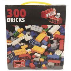 Bricks Set Colours Mixed 300 Pieces *