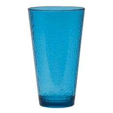 Indoors Out Tumbler Polystyrene Hammered Teal