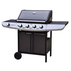 Necessities Brand BBQ Genoa Hood 4 Burner with Side Burner