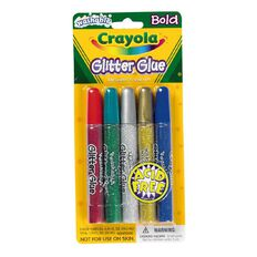 Crayola Glitter Glue 5 Pack