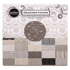 Rosie's Studio Wedding Designer Paper Pad 6in x 6in 40 Sheets