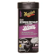 Meguiars Interior Detailer Wipes 25 Pack