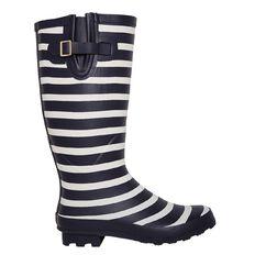 Women's Stripe Gumboots