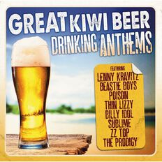 Great Kiwi Beer Drinking Anthems CD by Various Artists 2Disc