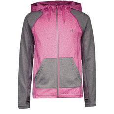 Active Intent Girls' Space Marl Reflective Jacket