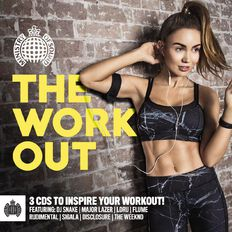 Ministry of Sound The Workout CD by Various Artists 3Disc