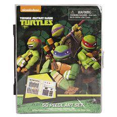 Teenage Mutant Ninja Turtles Art Set 50 Piece