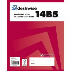 Deskwise Pad Refill 14B5 7mm Ruled 50 Leaf