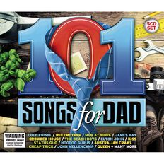 101 Songs for Dad CD by Various Artists 5Disc