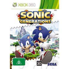 Xbox360 Sonic Generations