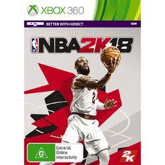 Xbox360 NBA 2K18