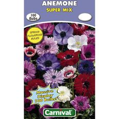 Carnival Anemone Bulb Super Mix 100 Pack