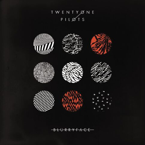 Blurryface CD by Twenty One Pilots 1Disc