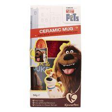 Secret Life of Pets Kinnerton Mug & Egg 50g