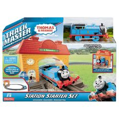 Thomas & Friends Fisher-Price Trackmaster Wellsworth Station Starter Set