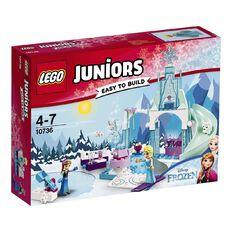 Disney Princess LEGO Juniors Anna & Elsa's Frozen Playground 10736