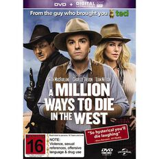 A Million Ways to Die in the West DVD 1Disc
