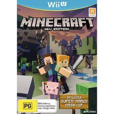 Nintendo Wii U Minecraft