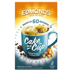 Edmonds Salted Caramel & Chocolate Chip Cake In A Cup 220g