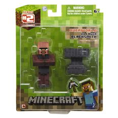 Minecraft Blacksmith Villager with Accessory
