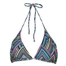 Beach Works Women's Printed Bikini Top