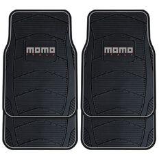 Momo Car Mats Black/Grey