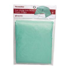 Necessities Brand Shade Wall Green 3 Piece