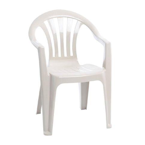 Taurus Home Products Chair Resin Kea White