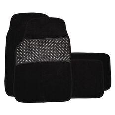 Wildcat Car Mat Carpet Set Black 4 Pack