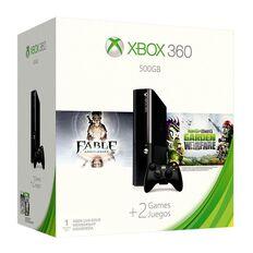 Xbox360 Console Standard 500GB Autumn Value Bundle