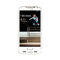Mophie Juice Pack Battery Case for Galaxy S4 White