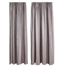 Maison d'Or Curtains Thorndon Flint
