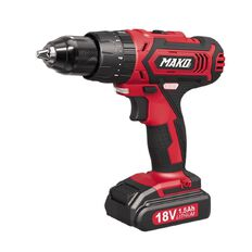 Mako Cordless Drill with Impact Function 18v