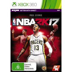 Xbox360 NBA 2K17