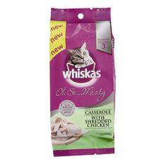 Whiskas Oh So Meaty With Shredded Chicken 85g 3 Pack