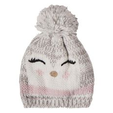 A'nD Young Girls' Novelty Beanie