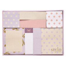 Stylo Gold Sticky Note Set