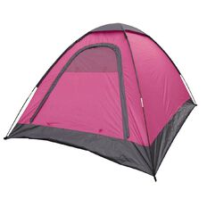 Necessities Brand Sleepout Tent Pink 2 Person