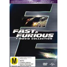 Fast and Furious 1-7 DVD 7Disc