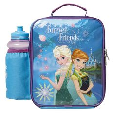 Frozen Disney Lunch Bag & Bottle