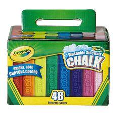 Crayola Sidewalk Chalk 48 Piece
