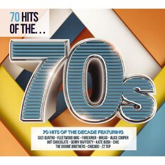 70 Hits of the 70s CD by Various Artists 3Disc