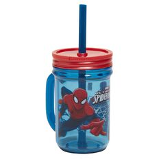 Spider-Man Mason Jar with Handle