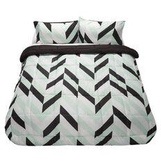 Living & Co Comforter Set Aurora Charcoal