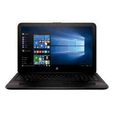 HP 15.6 inch Notebook 15-BA033AU Black