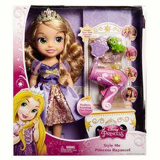 Disney Princess Style Me Rapunzel Doll